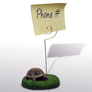 Turtle Note Holder