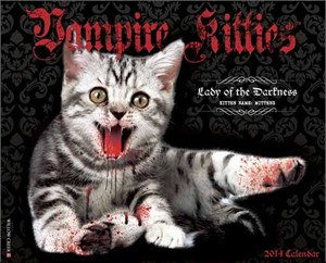 Vampire Kitties Calendar 2014