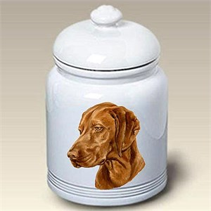 Vizsla Treat Jar