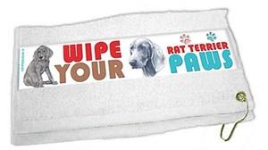 Weimaraner Paw Wipe Towel