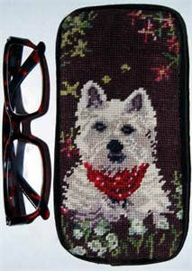 West Highland Terrier Eyeglass Case