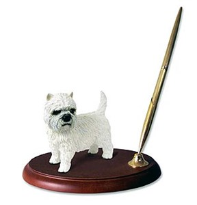 West Highland Terrier Pen Holder