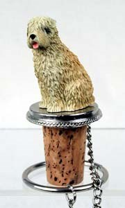 Wheaten Terrier Bottle Stopper