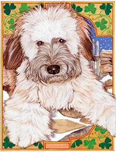 Wheaten Terrier Christmas Cards