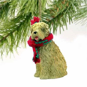 Wheaten Terrier Tiny One Christmas Ornament