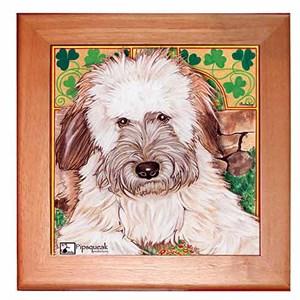 Wheaten Terrier Trivet