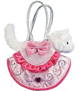 White Cat Purse