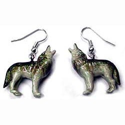 Wolf Earrings True to Life