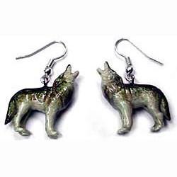 Wolf Earrings True to Life