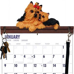 Yorkshire Terrier Calendar Caddy