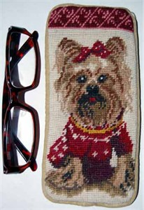 Yorkshire Terrier Eyeglass Case