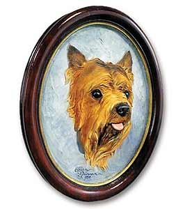 Yorkshire Terrier Sculptured Portrait