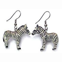 Zebra Earrings True to Life